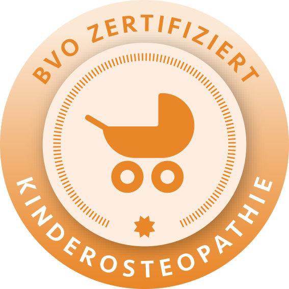 BVO zertifiziert Kinderosteopathie Logo